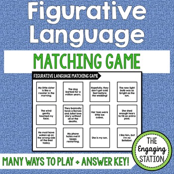 Figurative Language Matching Game