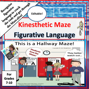 Figurative Language Kinesthetic Maze