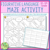 Figurative Language Maze-Review Activity, Engaging