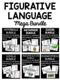 Figurative Language Mega Bundle- Posters, Book, Matching, Simile, Metaphor