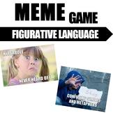 Figurative Language Meme Game