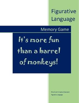 Figurative Language Memory Game