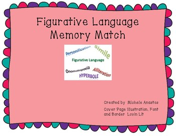 Figurative Language Memory Match
