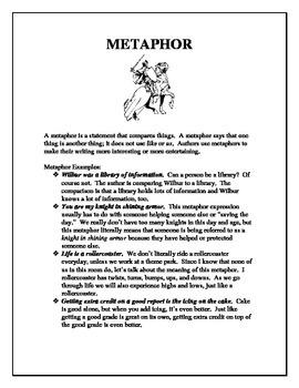 Figurative Language: Metaphor