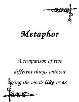 Figurative Language: Metaphor Activities