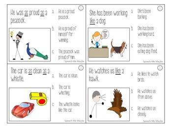 Figurative Language: Metaphors, Similes, & Idioms