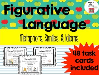 Figurative Language: Metaphors, Similes, & Idioms
