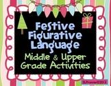 Figurative Language - Middle Level Holiday
