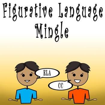 Figurative Language Mingle Activity
