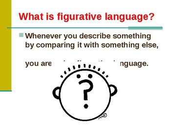 Figurative Language Mini Lesson