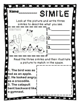 Figurative Language Mini Lesson Bundle