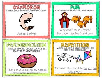 Figurative Language Mini Posters