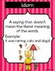 Figurative Language Mini - Posters - Display