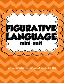 Figurative Language Mini-Unit