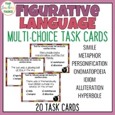 Figurative Language Multi-Choice Task Cards (US and NZ)
