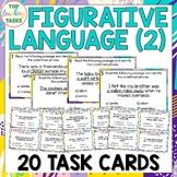 Figurative Language Multi-Choice Task Cards US and NZ