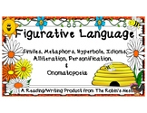 Figurative Language: Anchor Charts, Worksheets, and Writing Activities!