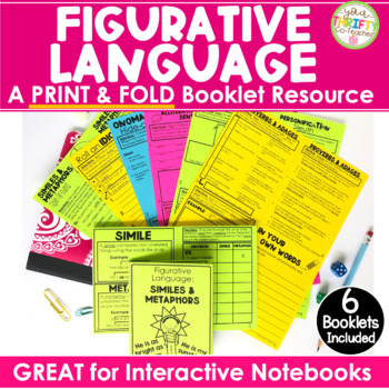Figurative Language Activities No Cut Figurative Language Interactive Notebook