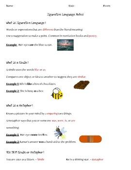 Figurative Language Note-Taker