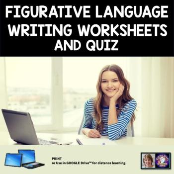 Figurative Language Notes, Exercise, and Quiz