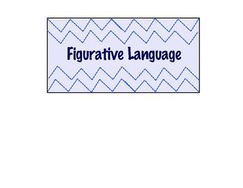 Figurative Language Notes/QR code task cards