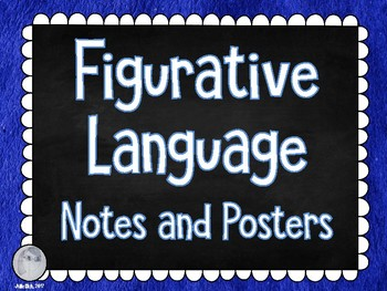 Figurative Language Notes and Posters