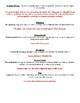 Figurative Language Notes and Worksheet