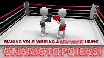 FIGURATIVE LANGUAGE (ONOMATOPOEIA) - Interactive PowerPoint
