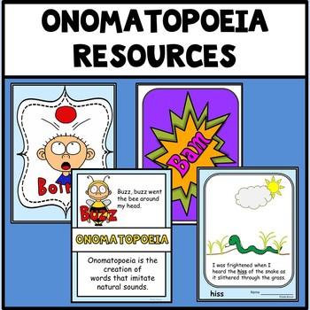 Figurative Language Onomatopoeia Activities