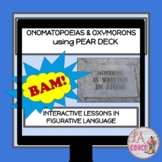Figurative Language Onomatopoeia and Oxymoron USING PEAR D
