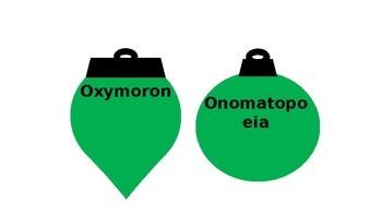 Figurative Language Ornaments