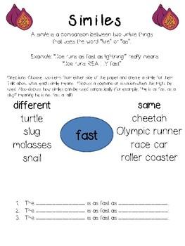 Figurative Language Pack