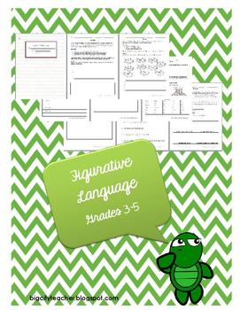 Figurative Language Packet Grades 3-5