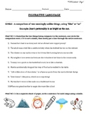 Figurative Language Packet for Middle School