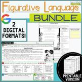 Figurative Language Passages: Bundle! 2 Digital and 2 Prin
