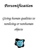 Figurative Language: Personification Activities