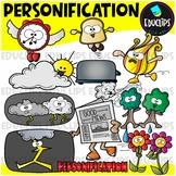 Figurative Language - Personification Clip Art Set {Educlips Clipart}