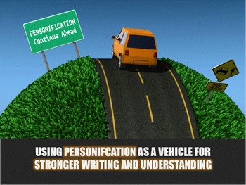 FIGURATIVE LANGUAGE (PERSONIFICATION) - Interactive PowerPoint