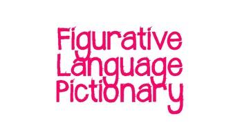 Figurative Language Pictionary Idiom Edition
