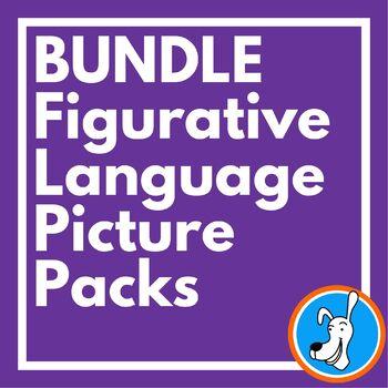 Figurative Language Picture Packs: Metaphors, Similes, Personification, Idioms