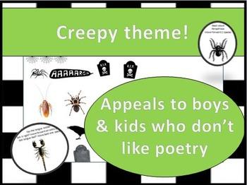Figurative Language Poetry Game