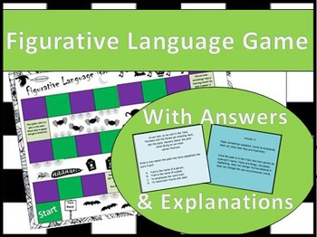 Figurative Language Poetry Game