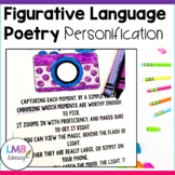 Figurative Language Activities, Personification Poems with Poetry Comprehension