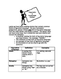 Figurative Language Poster Assignment (Idioms, Similes, Metaphors)