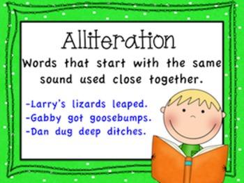 Figurative Language Poster Set (Primary Version)