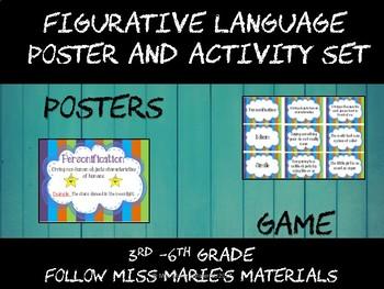 Figurative Language Poster Set