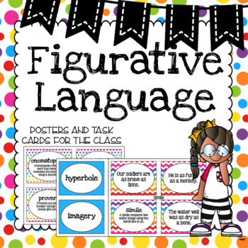 Figurative Language Posters and Activity