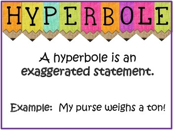 Figurative Language Posters: Simile, Metaphor, Personification & More