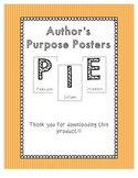 Author's Purpose PIE Posters