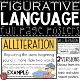 Figurative Language Posters {23 Terms with Definition and